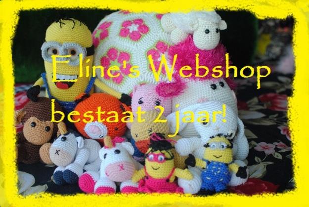 elines webshop bestaat 2 jaar